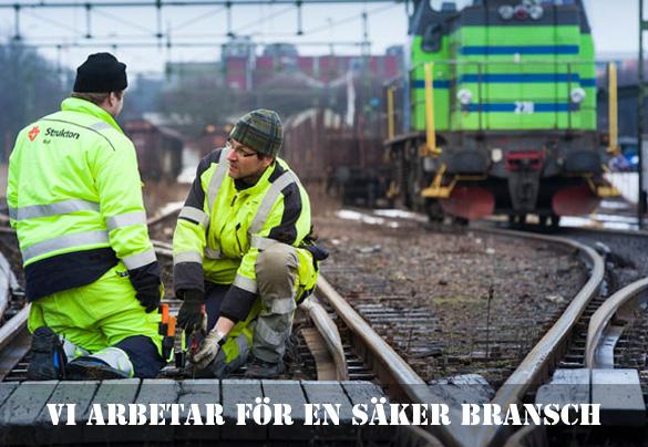 Vi arbetar för en säker järnvägsbransch